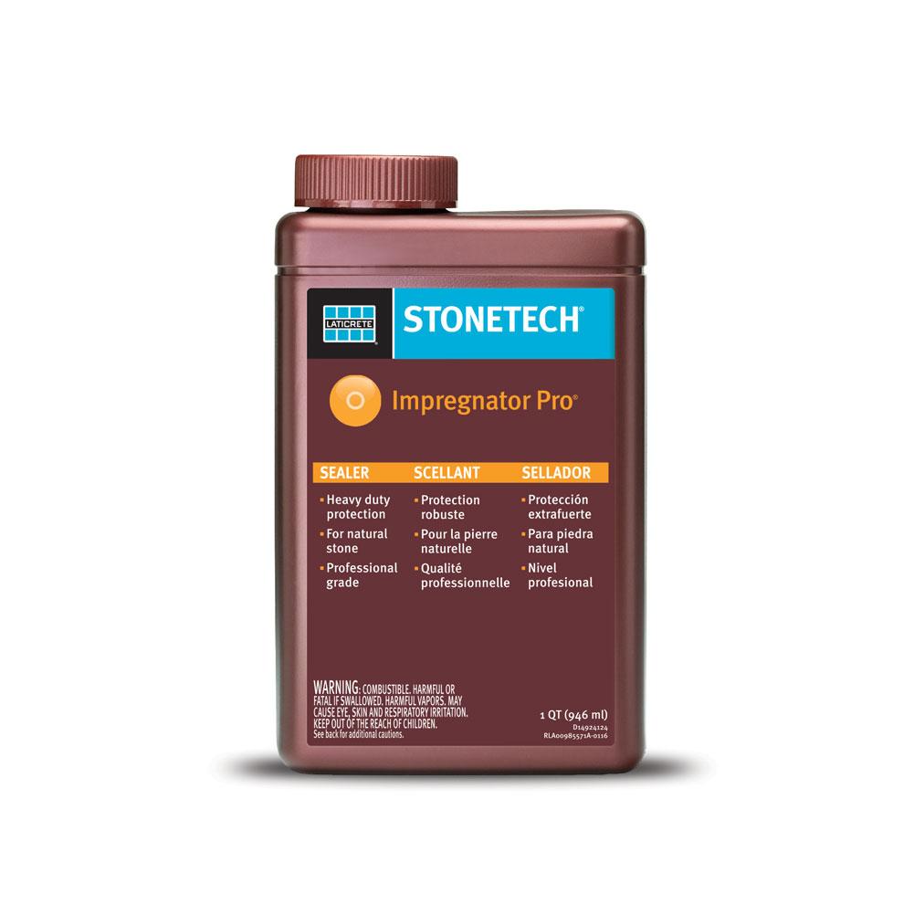 Laticrete stonetech professional impregnator pro sealer quart ebay for Dupont heavy duty exterior sealer
