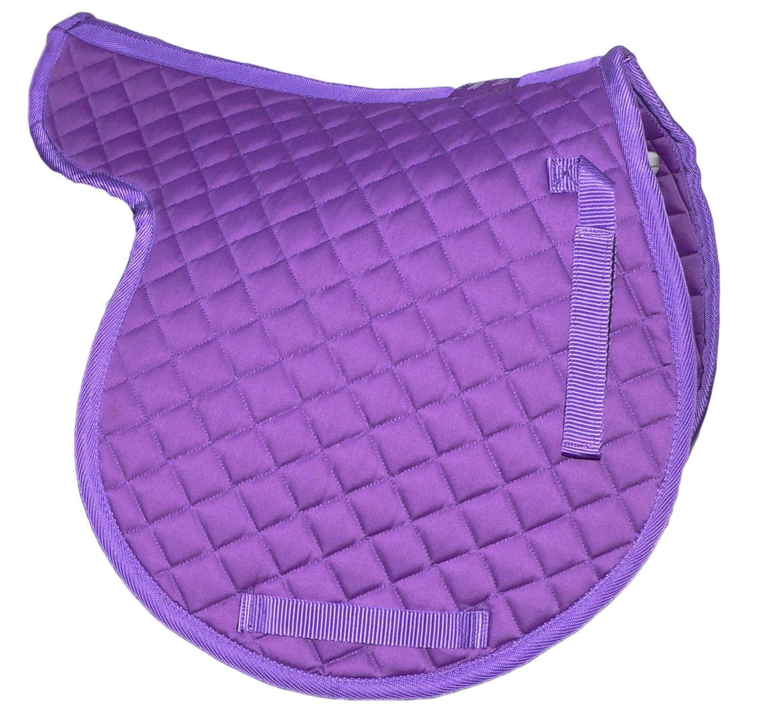 Gallop Quality Horse Riding Diamond Quilted Numnah All Colours