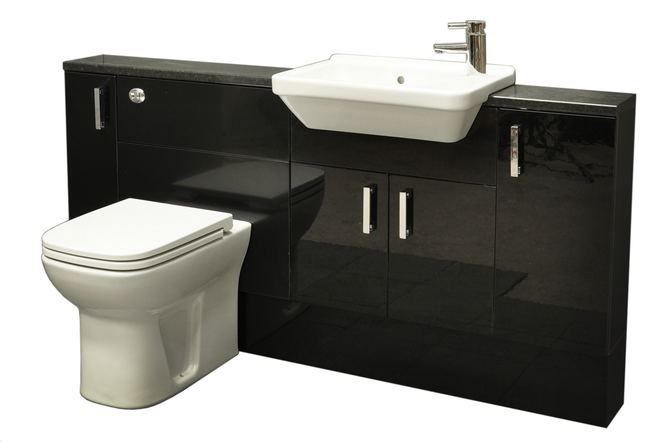 Simple Bring Elegance And Sophistication To Your Bathroom With The Victoria  Albert Mandello Volo Vanity With Quality Timber Construction, Sleek Modern Style And A Beautiful Black Gloss Finish  Deliveries For Some Furniture And Mattresses
