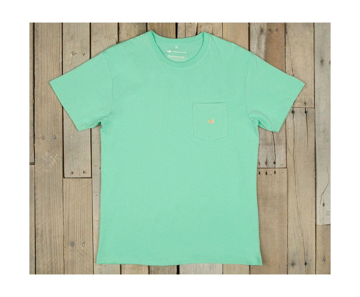 Southern marsh embroidered pocket t shirt ebay for Southern marsh dress shirts on sale