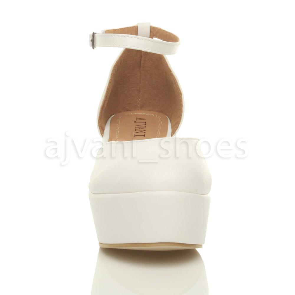 Mujeres-tacon-cuna-medio-flatform-plataforma-plana-escarpines-sandalias-talla