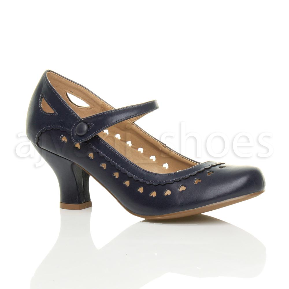 chaussures escarpins babies classique c ur d coup e femmes petit talon taille. Black Bedroom Furniture Sets. Home Design Ideas