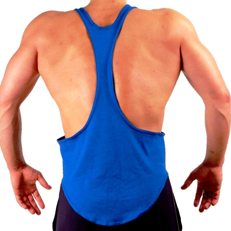 Mens Bodybuilding Gym String Posing Tank Top New Gary Majdell Sport
