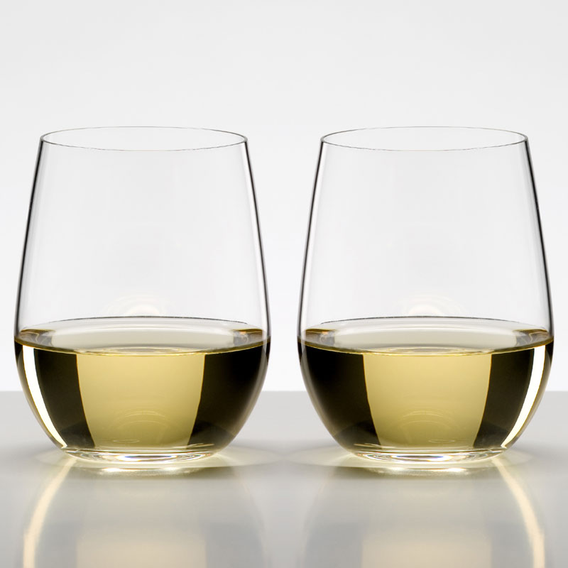 Riedel O Viognier Chardonnay Stemless Wine Glasses Set Of