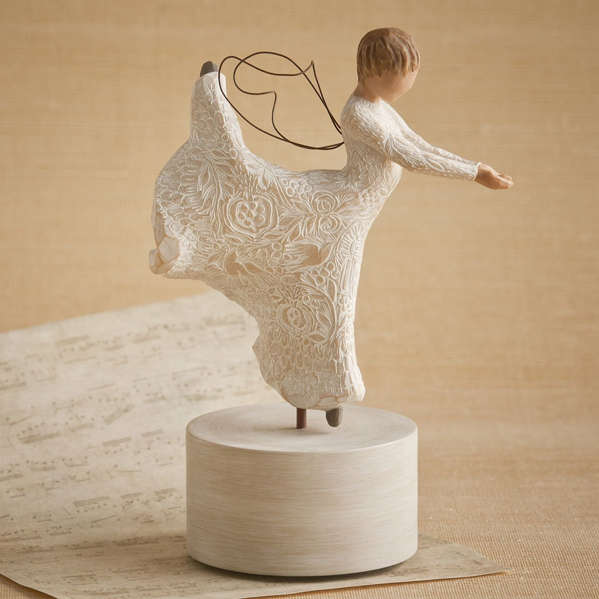 demdaco willow tree dance of life musical figurine ebay. Black Bedroom Furniture Sets. Home Design Ideas