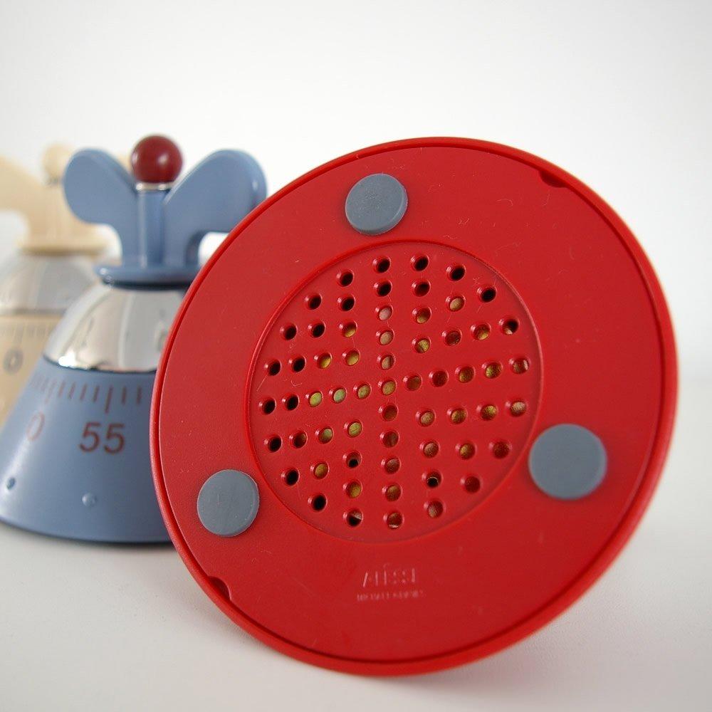 A di alessi michael graves kitchen timer red ebay for Timer alessi prezzo