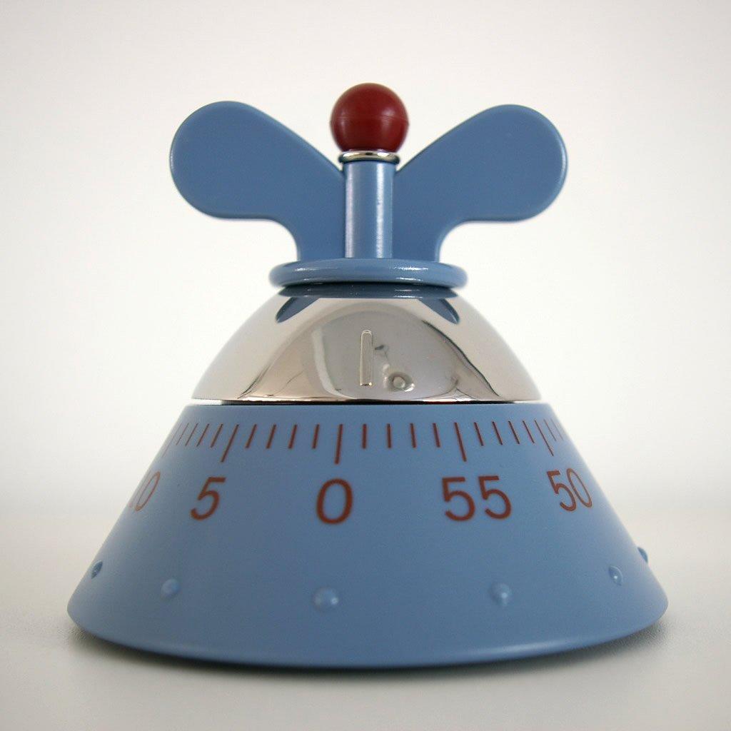 A di alessi michael graves kitchen timer blue ebay for Timer alessi prezzo