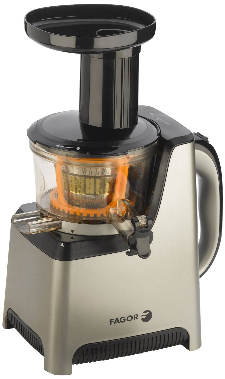 Slow Juicer Sorbetto : NDB-Fagor 670041910 Platino Plus Slow Juicer and Sorbet Maker
