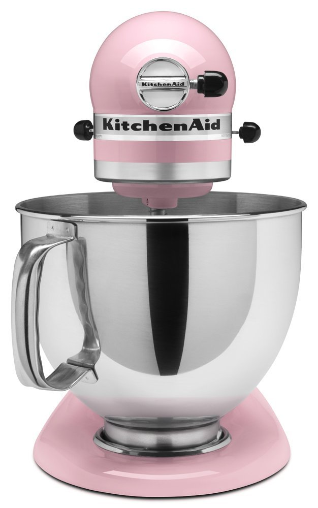 Kitchen aid 5 qt artisan series stand mixer for Shamrock stand mixer professional 700w motor
