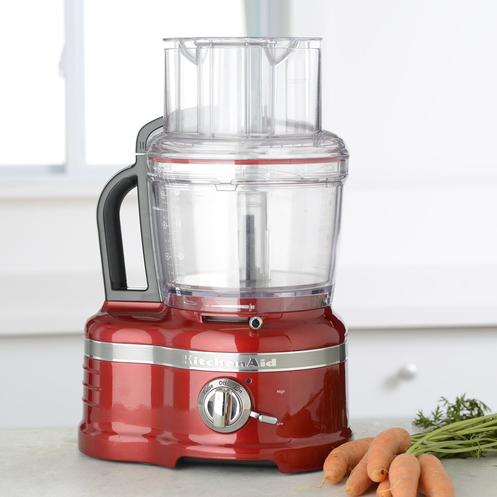 kitchenaid pro line 16 cup food processor candy apple red. Black Bedroom Furniture Sets. Home Design Ideas