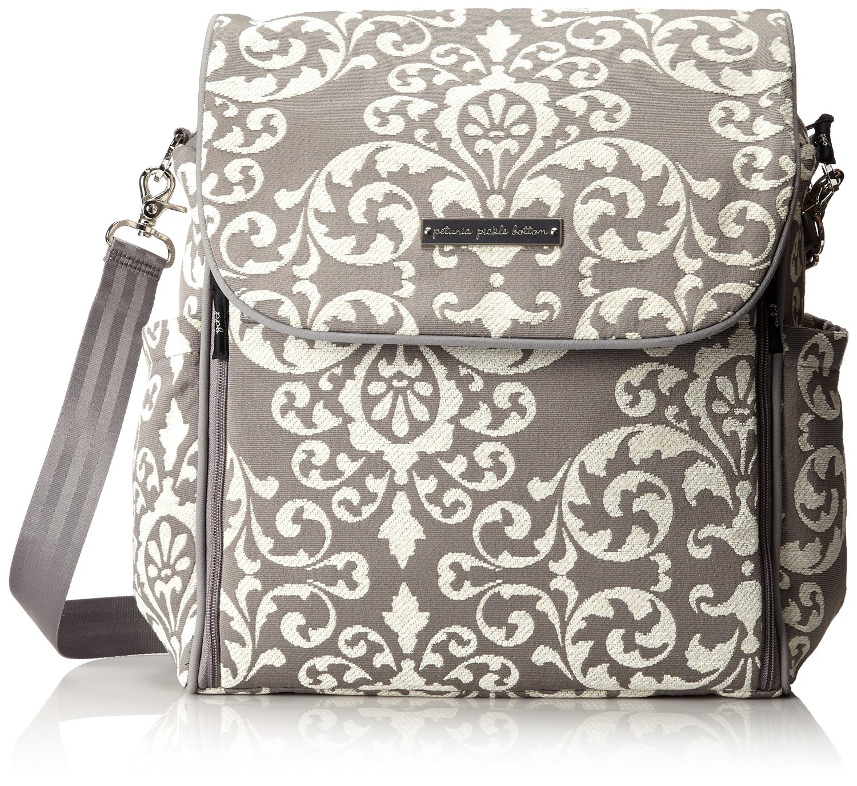 petunia pickle bottom boxy backpack earl grey ebay. Black Bedroom Furniture Sets. Home Design Ideas