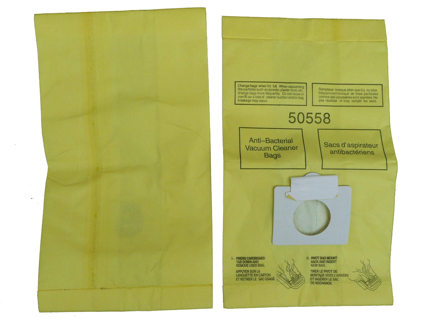 18 kenmore canister type c sears vacuum bags canister