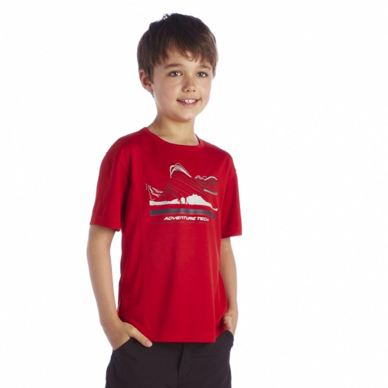 Regatta-Starcrest-Boys-Girls-Kids-Lightweight-Quick-Drying-Design-T-Shirt