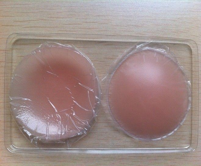 Reusable Silicone Gel Nipple Pasties Pads Covers Bra Waterproof Self-Adhesive