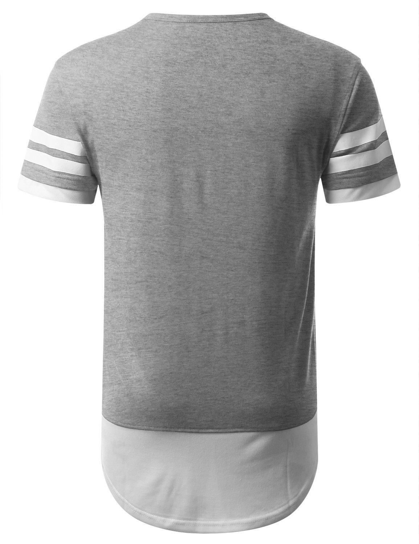 Men's Hip Hop Longline T-shirt