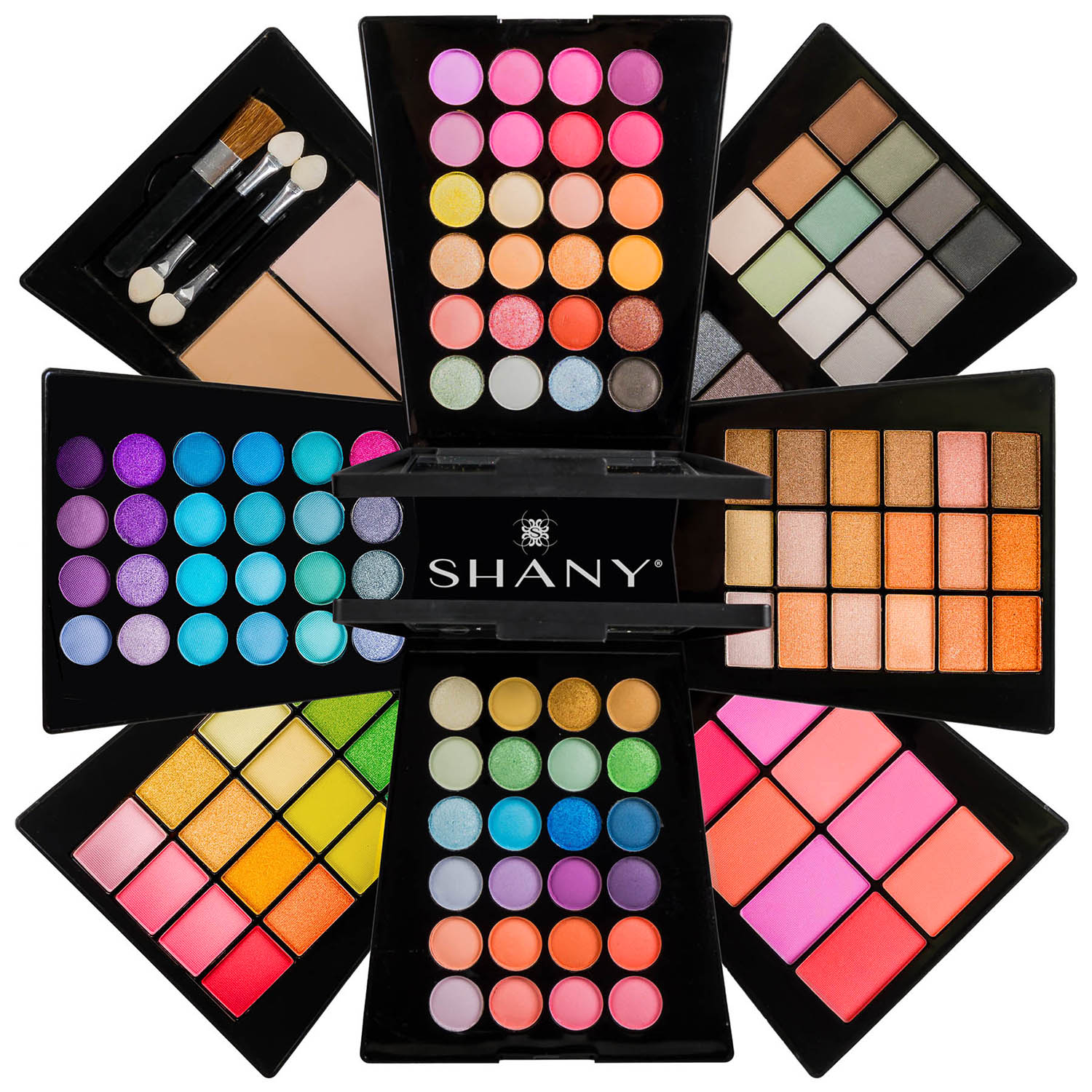 The SHANY Beauty Cliche - Expanding Makeup Set - Eyes and Fa