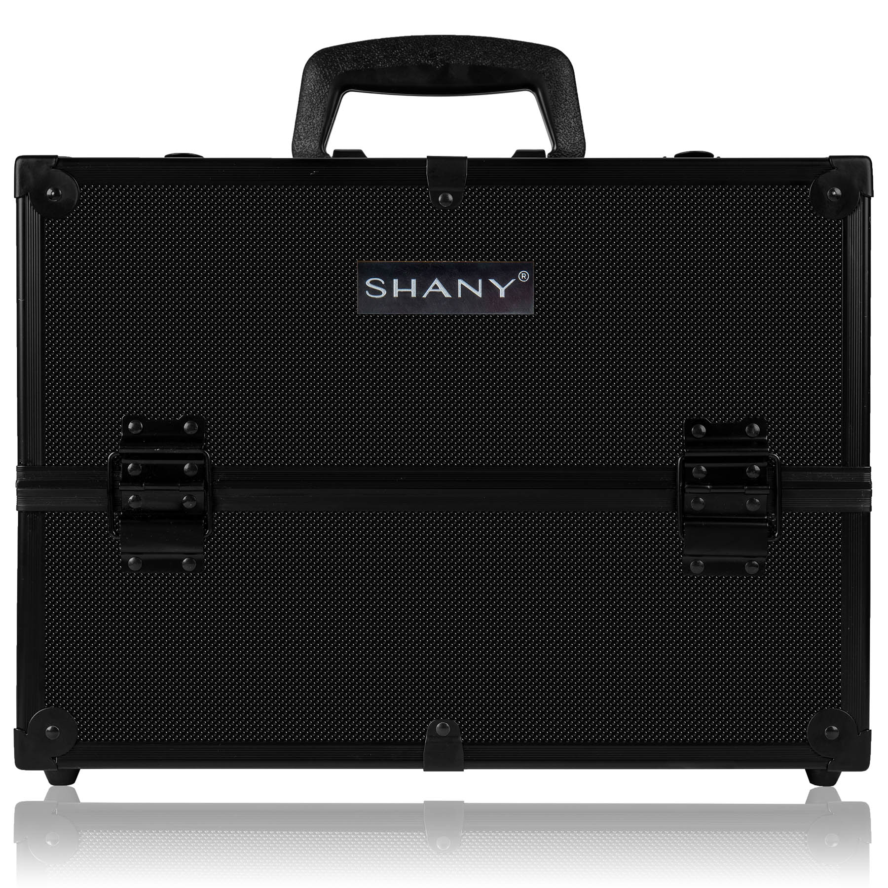 SHANY Essential Pro Makeup Train Case with Shoulder Strap an