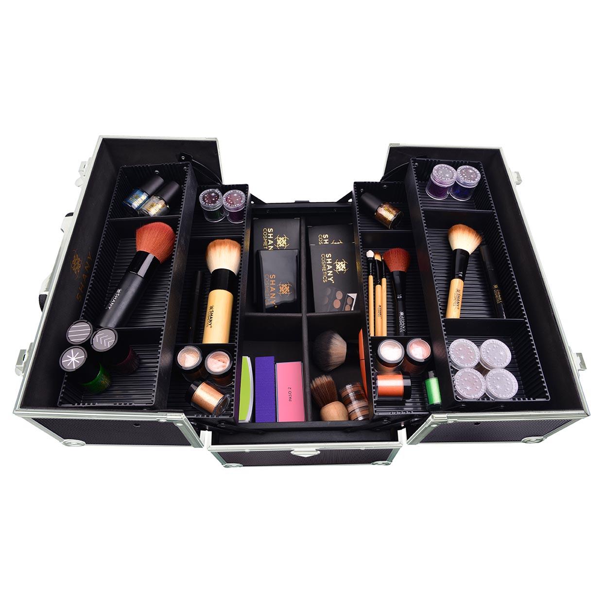 Professional makeup train case