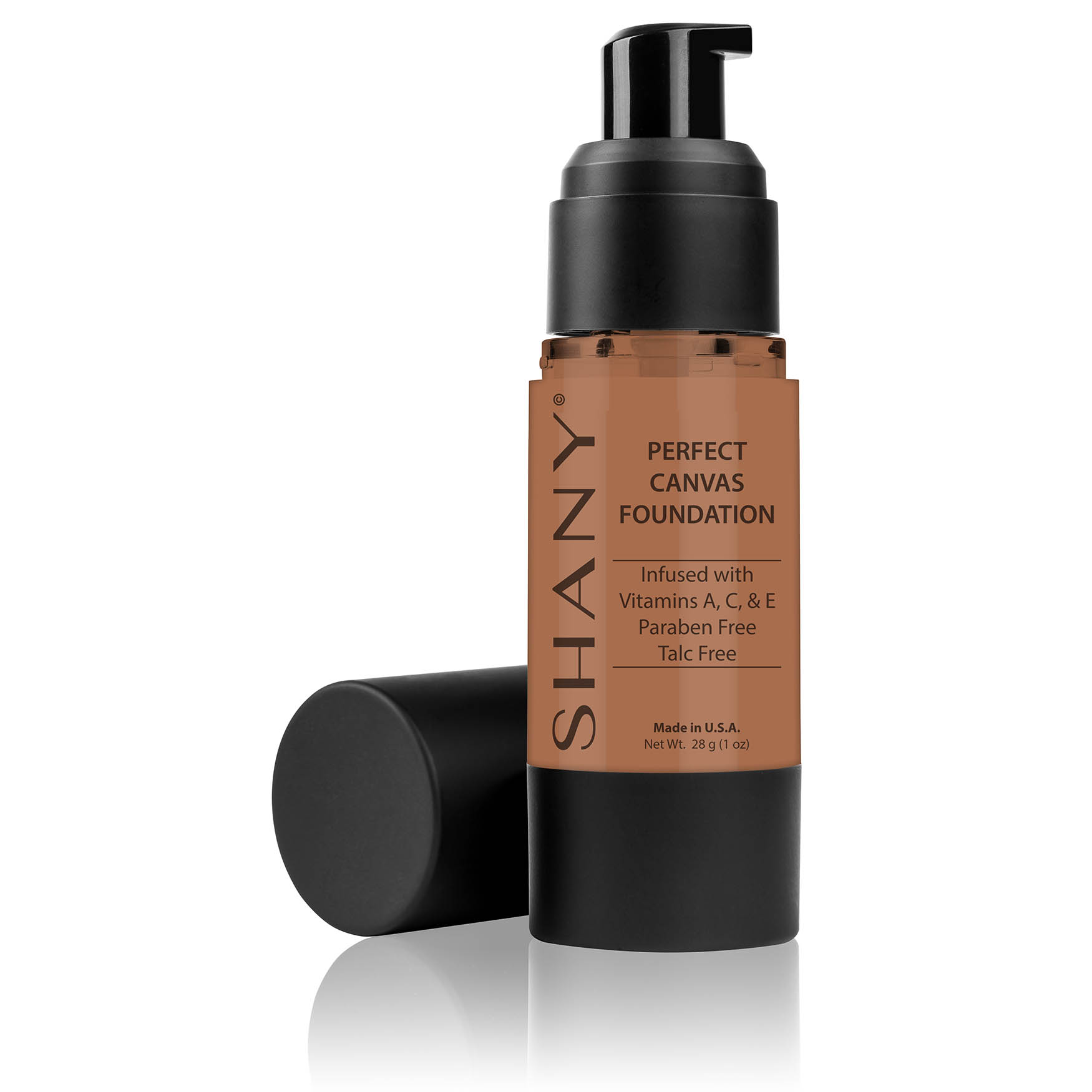 SHANY Perfect Canvas Liquid Foundation - Paraben Free/Talc F