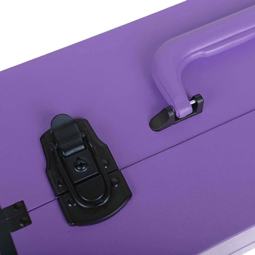 SHANY Modern Cosmetics Train Case Makeup organizer W/Brush Holder & Lock