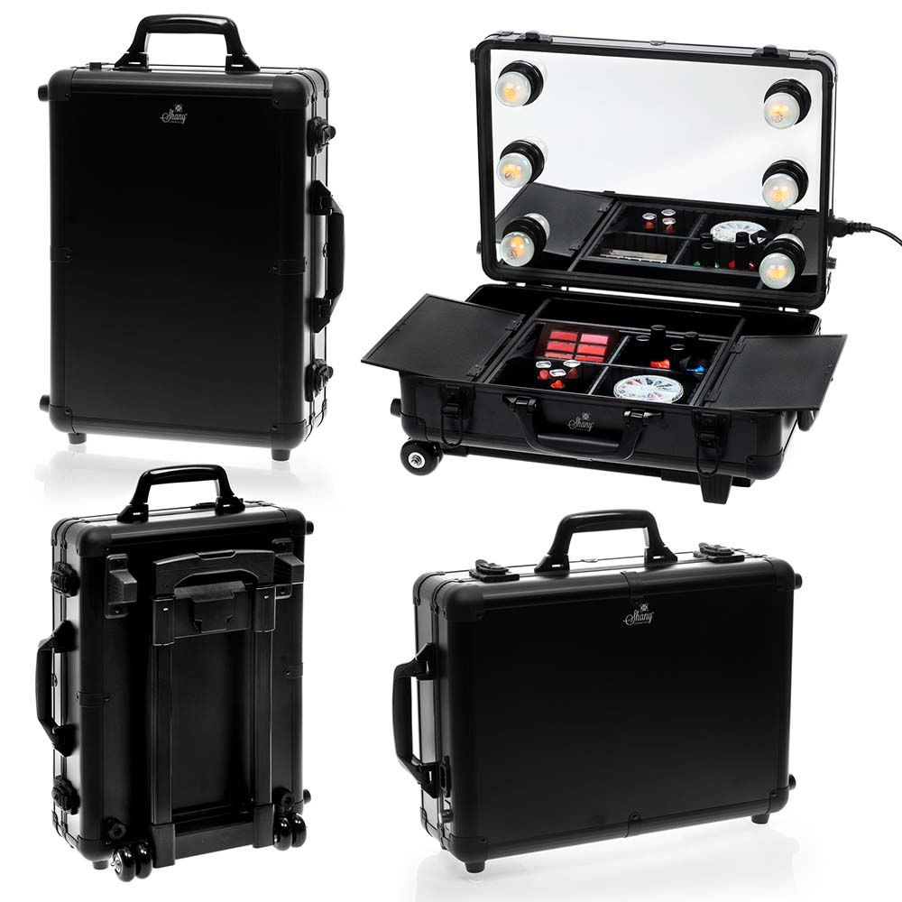 Shany mini studio togo makeup case with lights ebay for Mini makeup desk