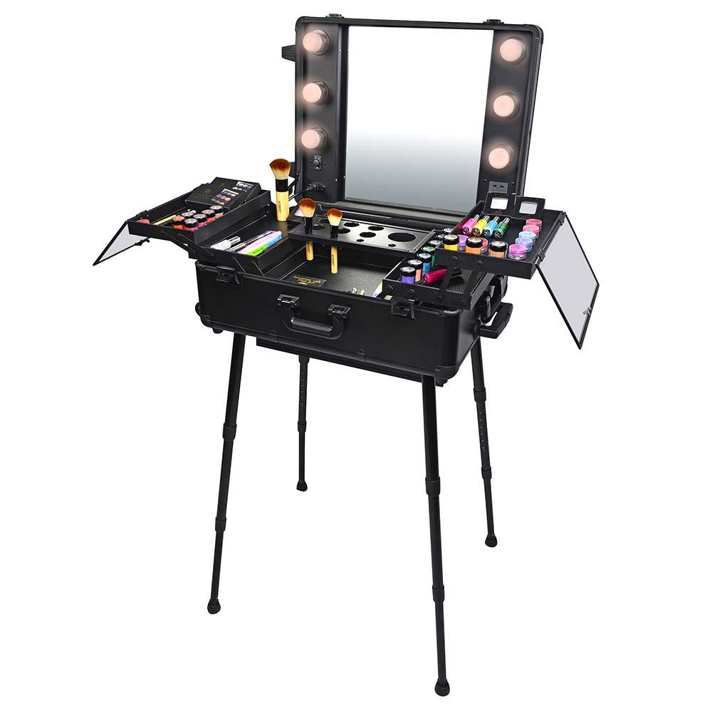 Shany Studio Togo Wheeled Trolley Makeup Case Amp Organizer
