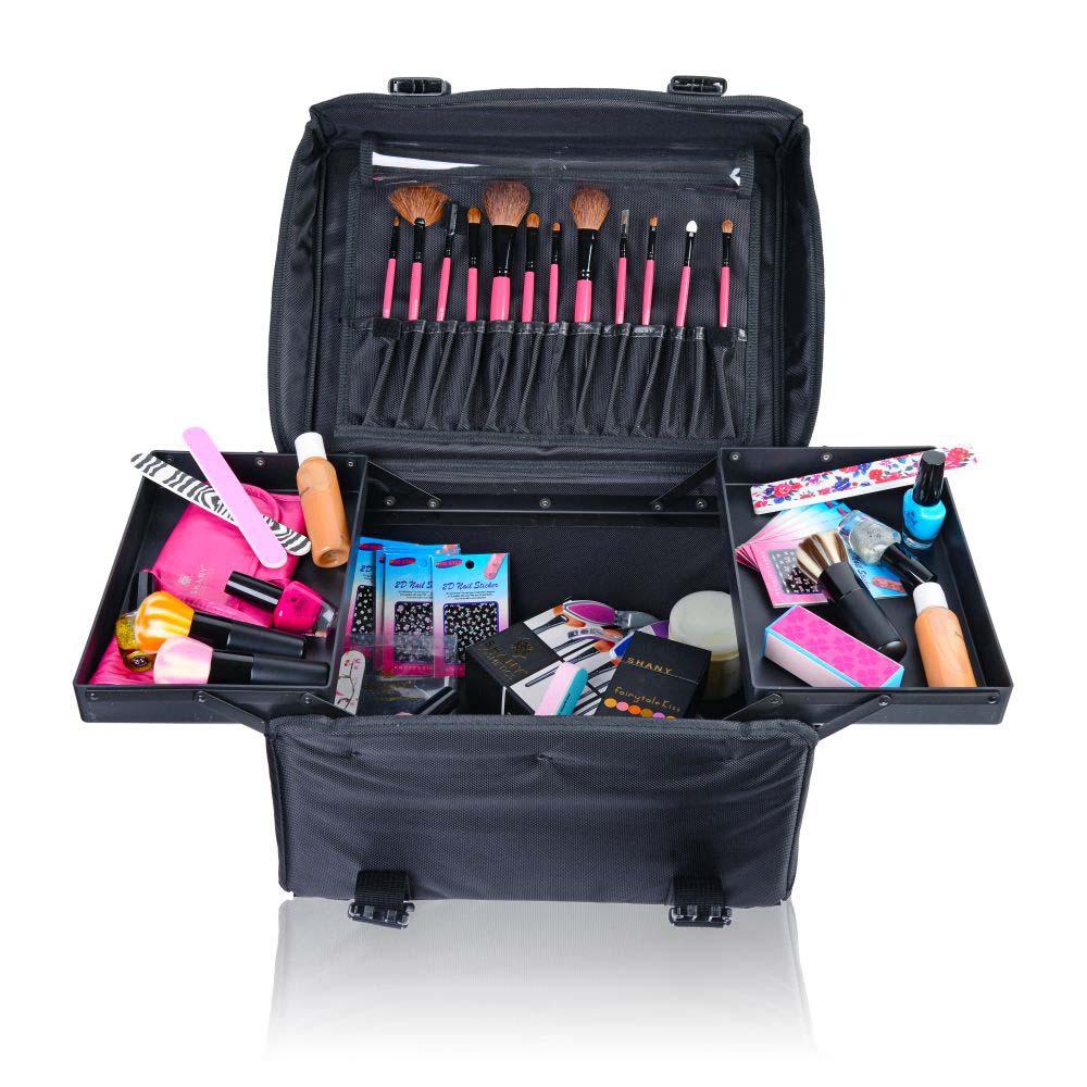 Rolling makeup case