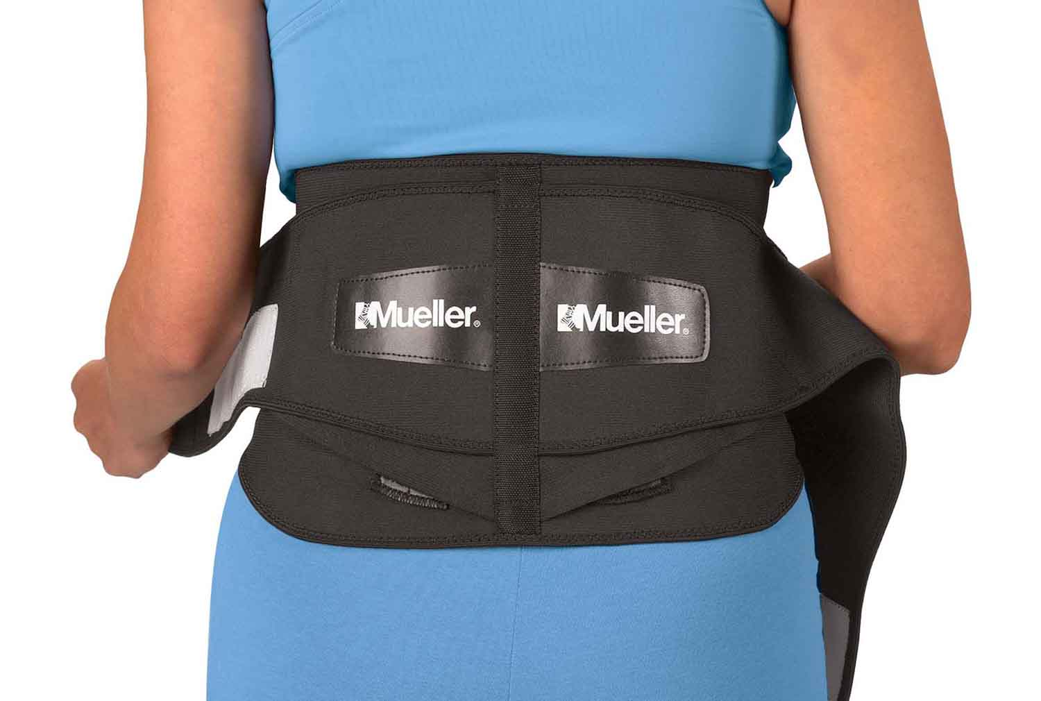 Mueller Lumbar Support Back Brace with Pad   eBay