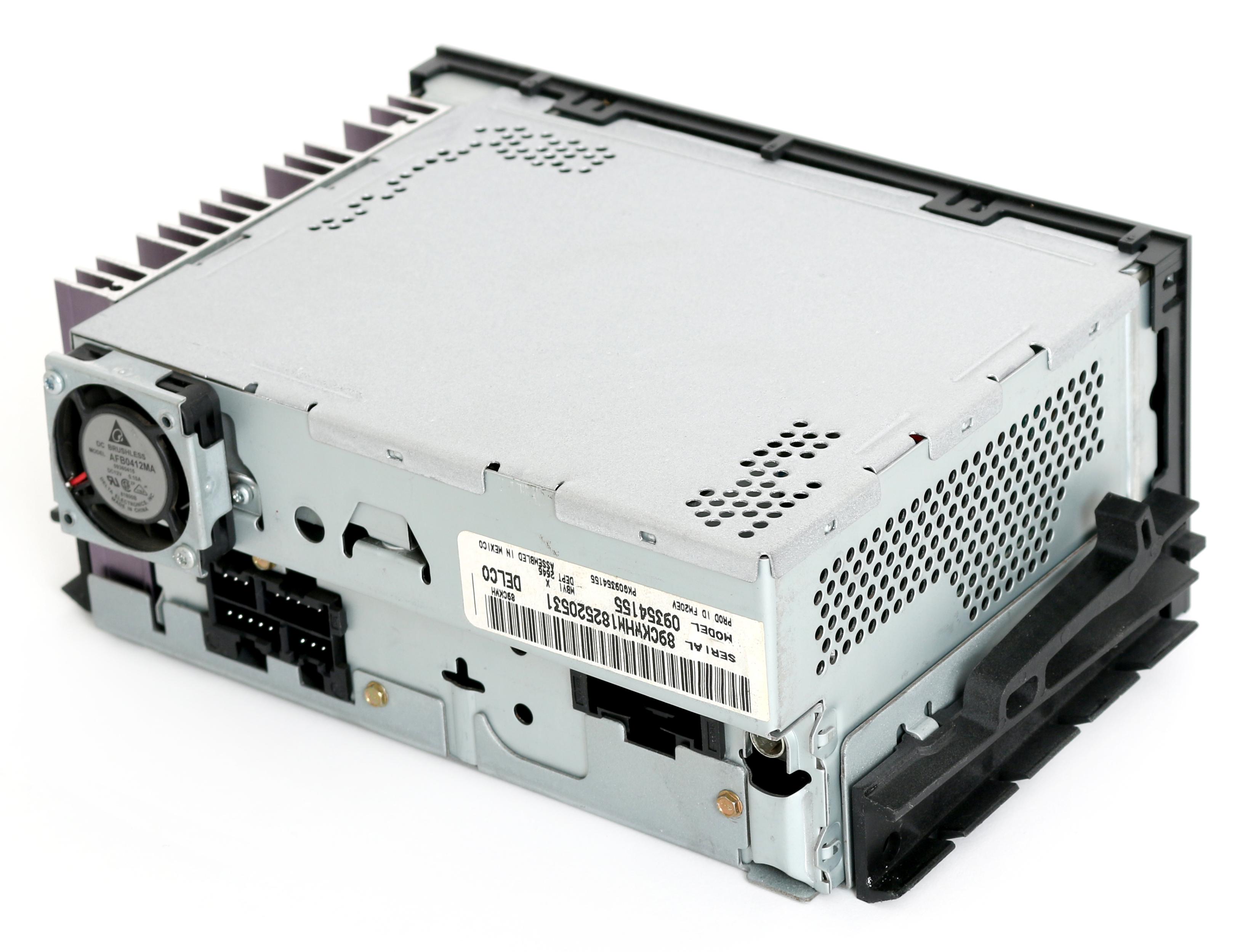 Delco Model 09354155 Wiring Diagram Starter 15071234 Radio 1995 2002 Gmc Chevy Truck Van Gm Am Fm Cassette Player Alternator