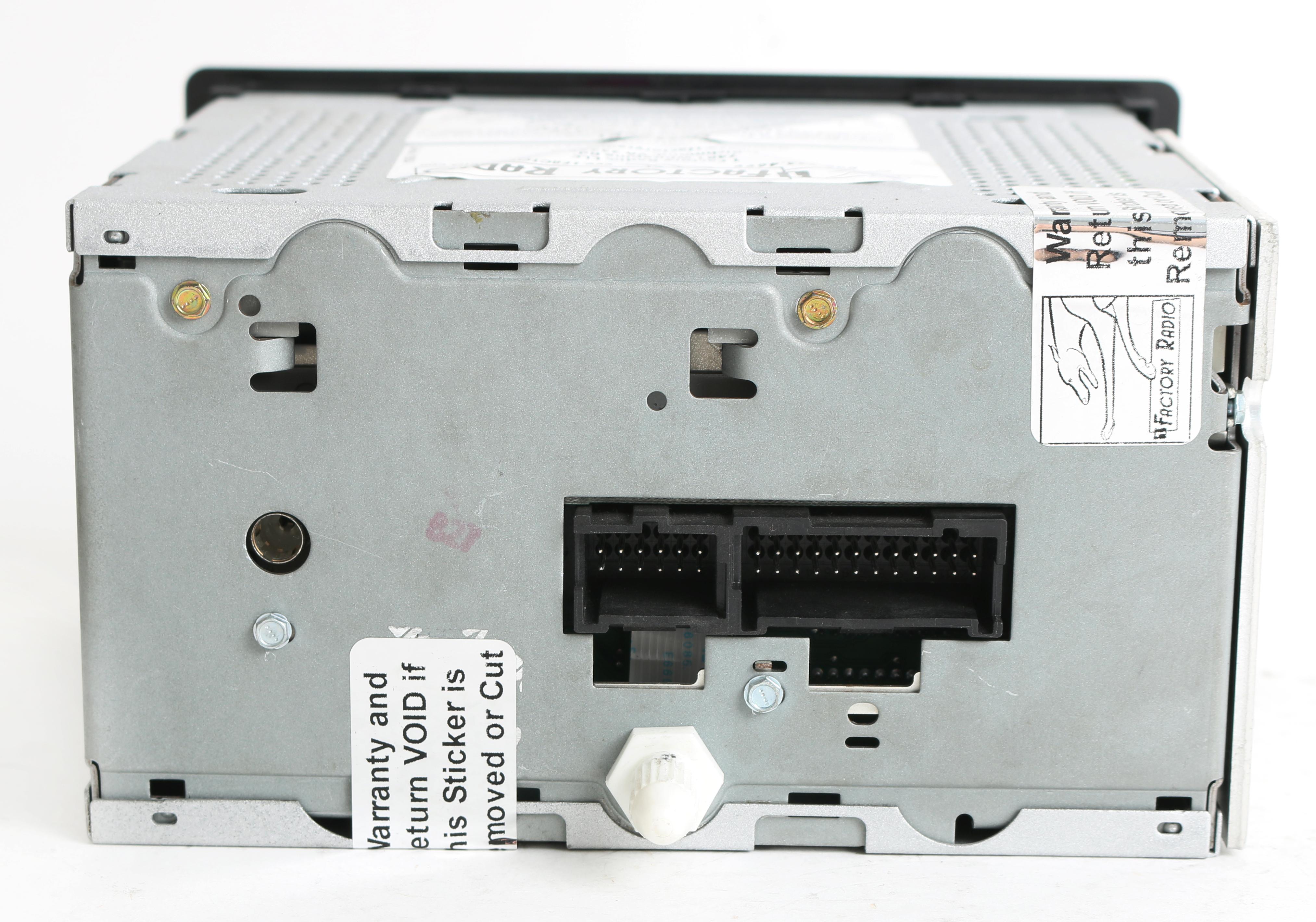 Gm Delco Radio Wiring Diagram Model 15184933 Trusted Schematics 1985 Harness Chevy Gmc 2003 2005 Truck Am Fm Cd Cassette W Auxiliary Mp3