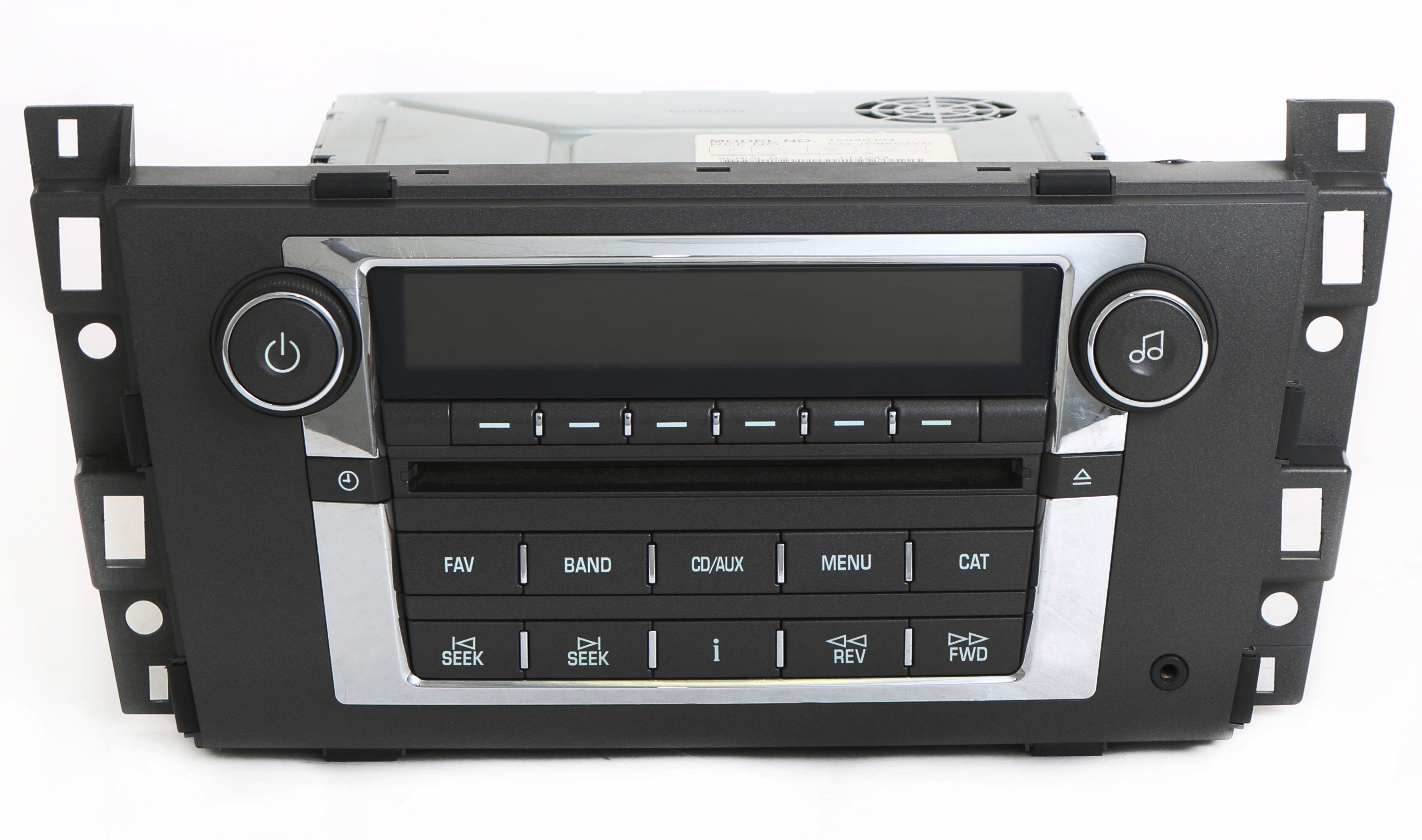 cadillac dts srx 2007 2009 radio am fm mp3 cd player w auxiliary input 15948004. Black Bedroom Furniture Sets. Home Design Ideas