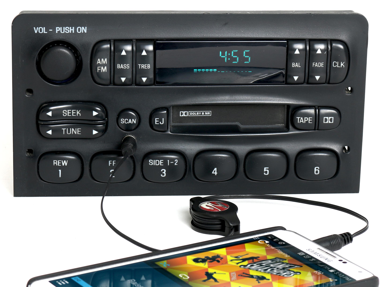 Ford F150 F250 Expedition 1997-98 M100 Radio AM FM CS w Aux Input  F75F-19B132-AA - 1 Factory Radio