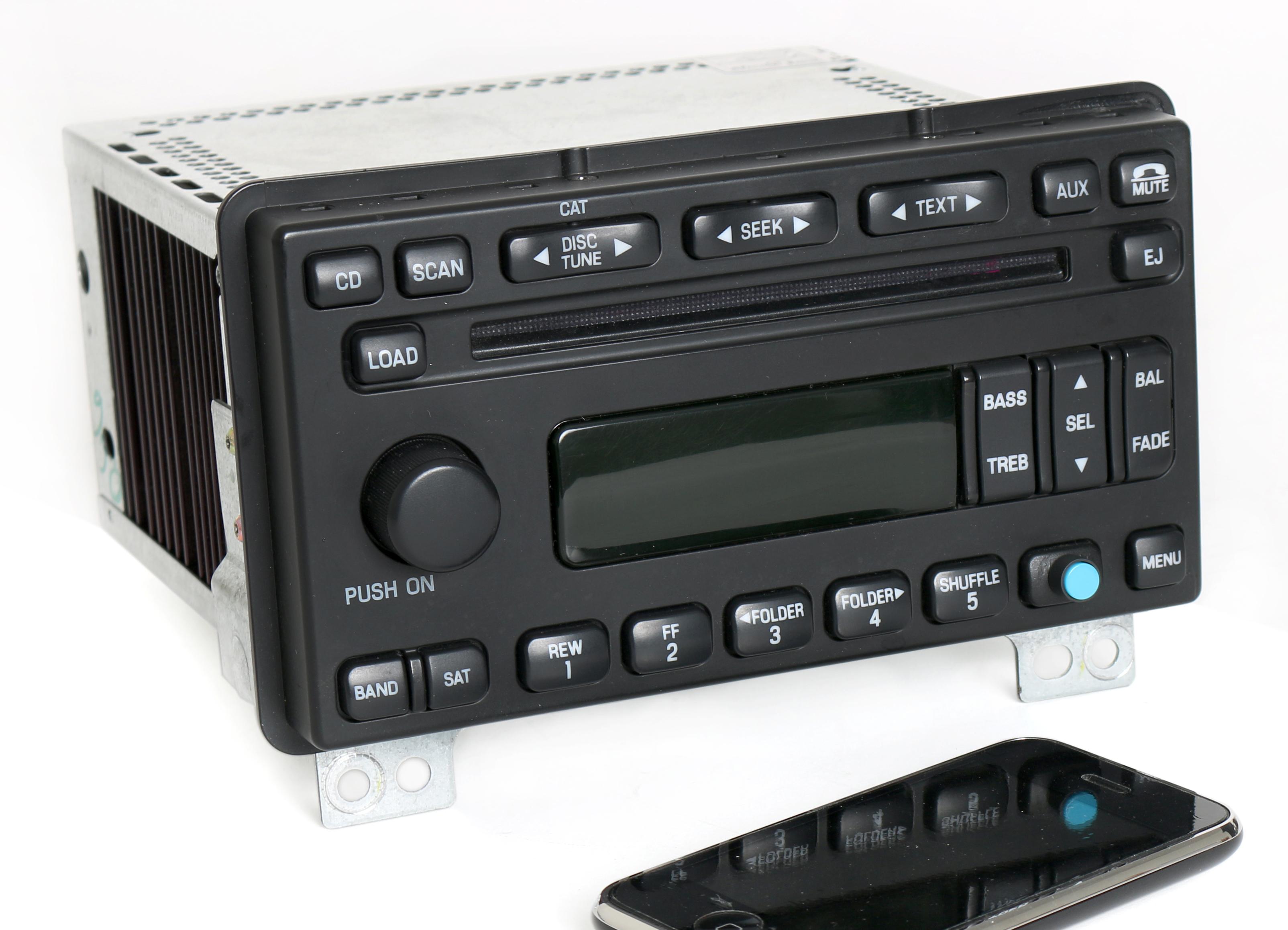 Lincoln Aviator 20032004 Radio AM FM 6 Disc CD w Bluetooth Music – Lincoln Aviator Radio Wire Diagram