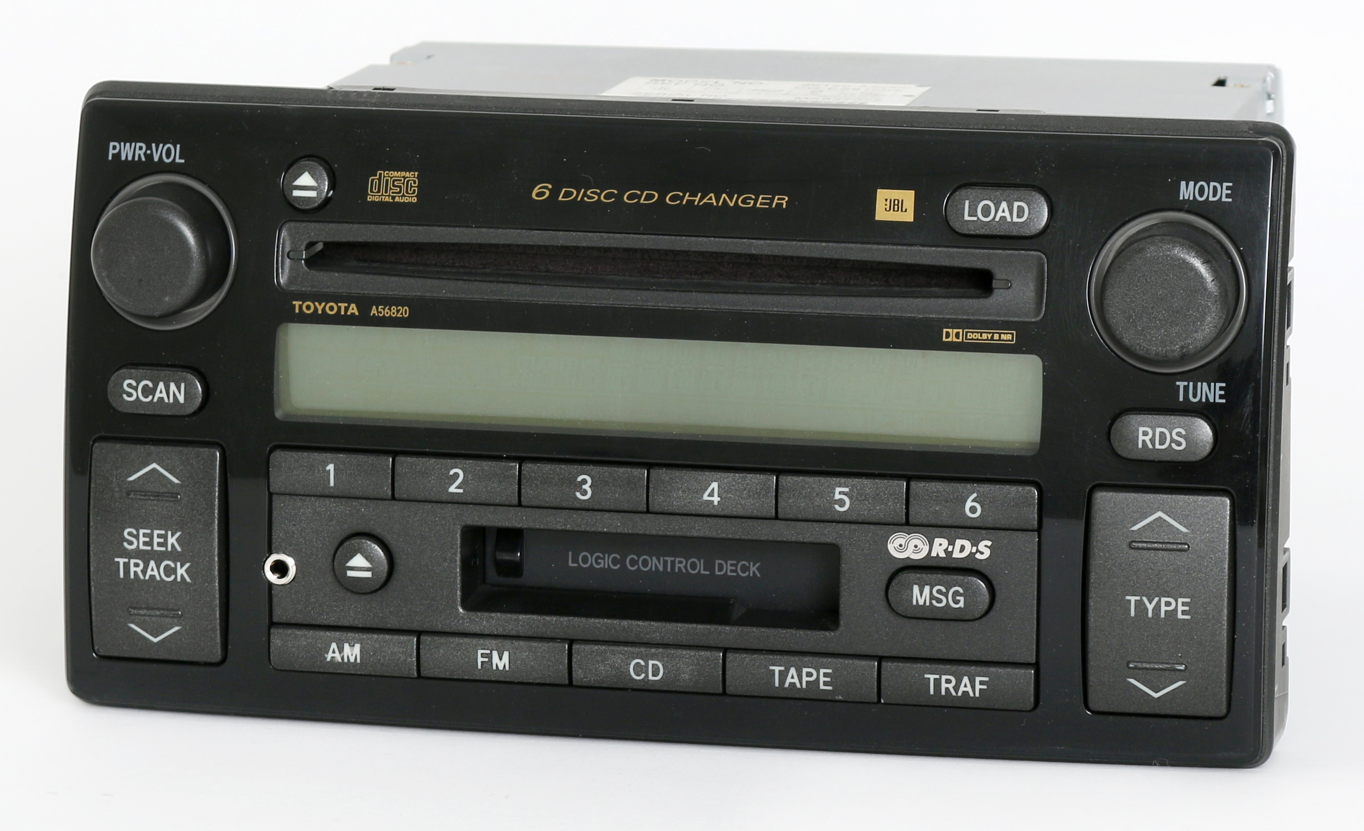 toyota camry xle 2002 04 jbl radio am fm 6 disc cd cs w aux input 86120 aa060 ebay. Black Bedroom Furniture Sets. Home Design Ideas