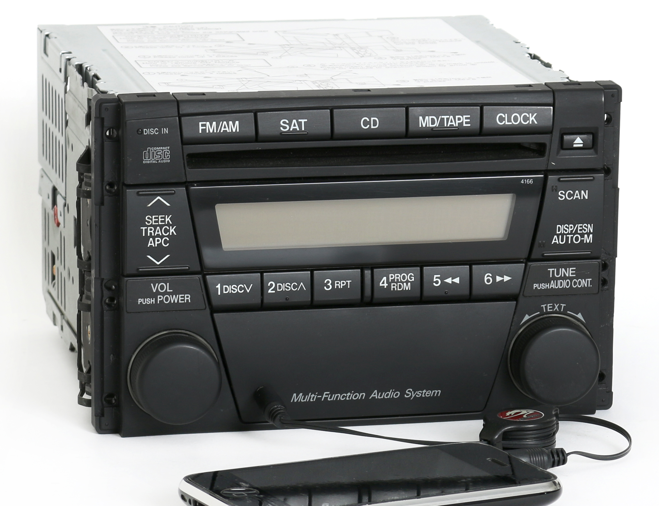 Remanufacture Aux Mod SERVICE OEM For Mazda Tribute AM FM CD - 2005 acura tl aux input