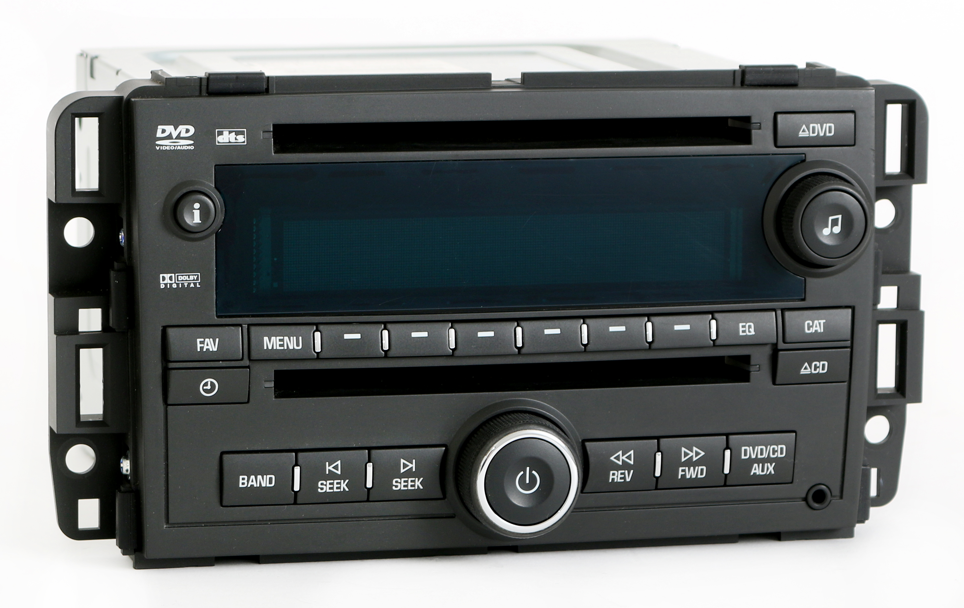chevy gmc truck radio am fm mp cd dvd player part chevy gmc truck 2007 2008 radio am fm mp3 cd dvd player part number 25840249 uva 1 factory radio