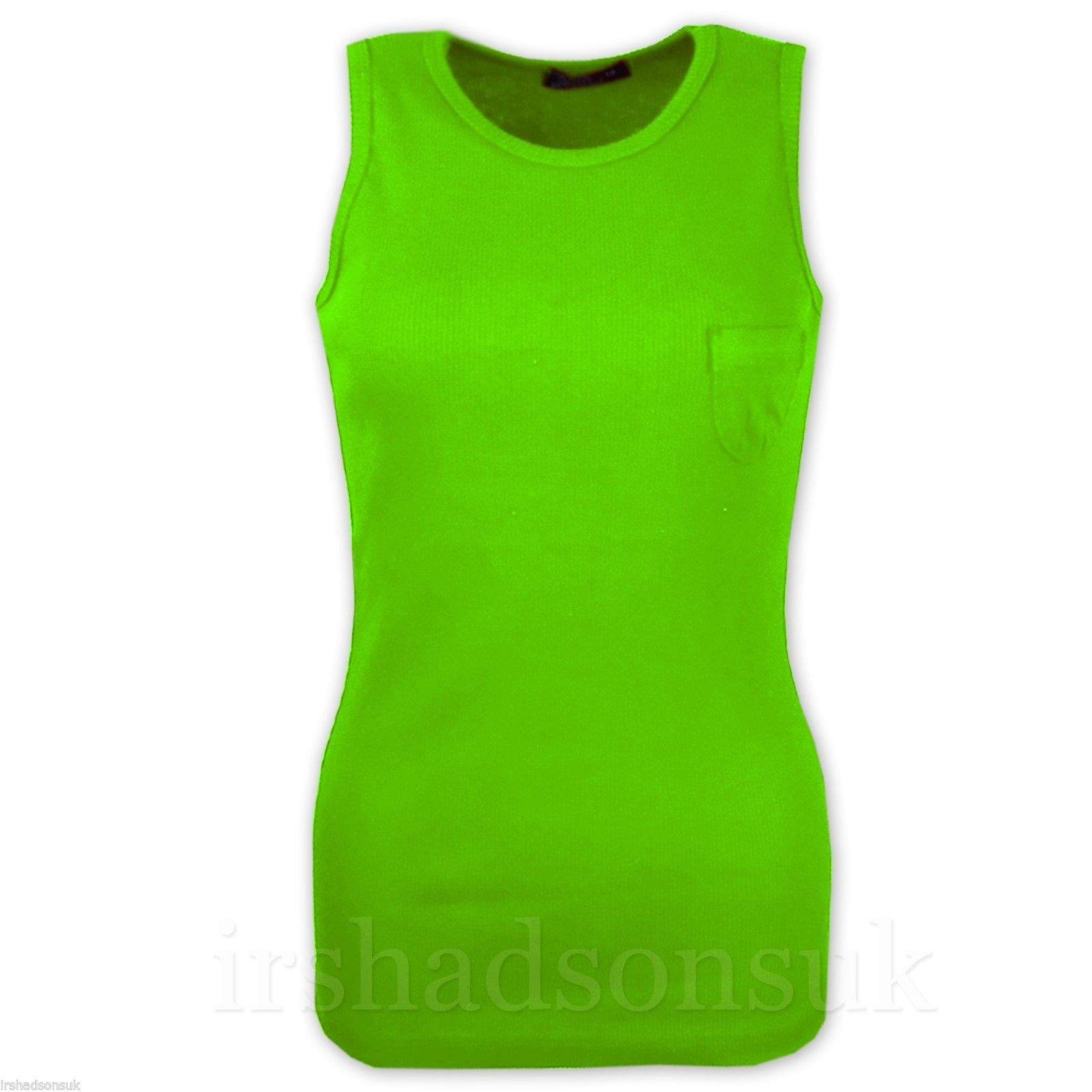 Kids-Girls-Ribbed-Vest-Top-100-Cotton-Summer-T-Shirt-5-6-7-8-9-10-11-12-13-Year