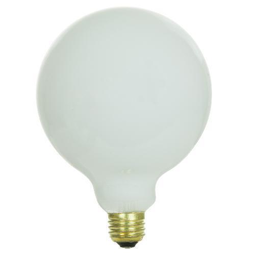 Sunlite 25w 120v Globe G40 E26 White Incandescent Light Bulb Ebay