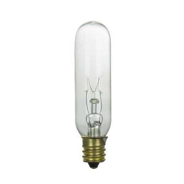 E12 Led Walmart: SUNLITE 25w T6 120v Candelabra Base Clear Bulb