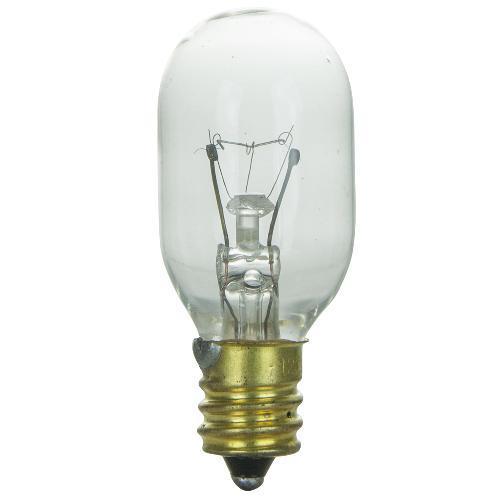 sunlite 15w t7 120v candelabra base clear bulb ebay. Black Bedroom Furniture Sets. Home Design Ideas