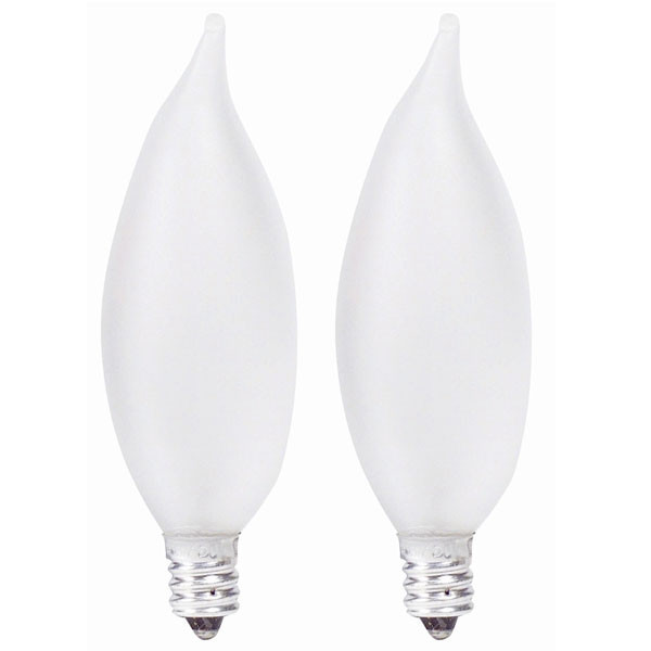 Led E12 Frosted: Philips 60w 120v BA9 E12 Frosted Candelabra DuraMax