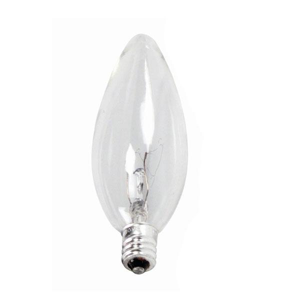 Newhouse Lighting 40w Equivalent Incandescent B10: Philips 40w 120v B10.5 Candelabra DuraMax Decorative