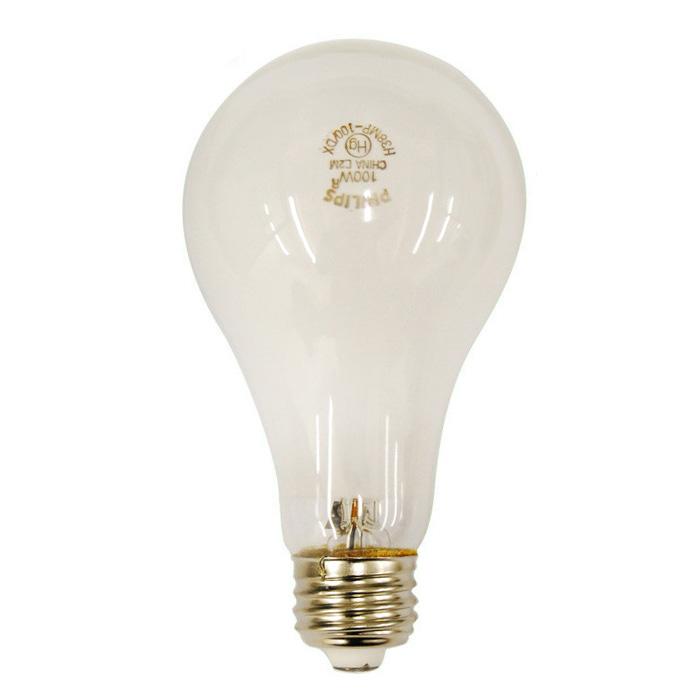 h38mp 100dx 100w a23 3700k cool white mercury vapor hg hid light bulb. Black Bedroom Furniture Sets. Home Design Ideas