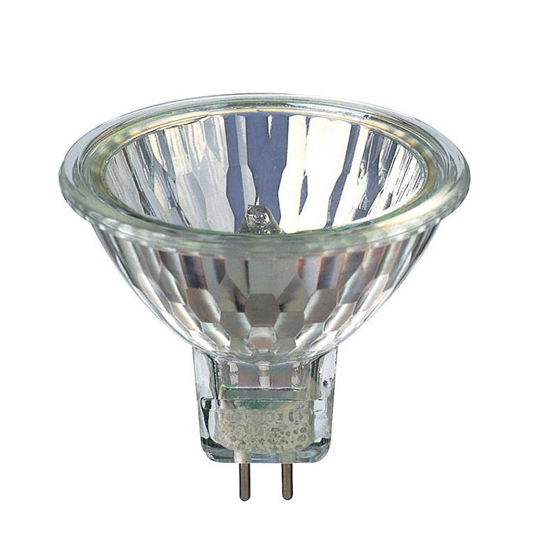 Mr16 Led Lap: OSRAM 50w 12v MR16 GU5.3 IR SP10 Halogen Light Bulb