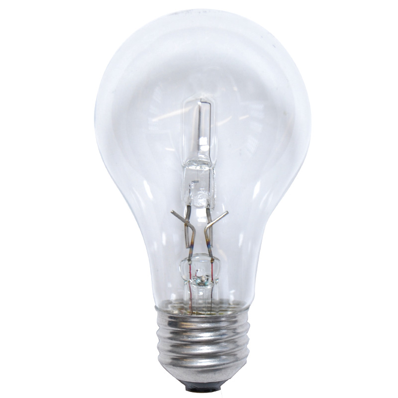2pk Sylvania 72w A Shape A19 E26 Clear Halogen Light Bulb 100w Equiv Ebay