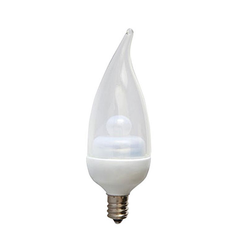 ge 1 8w 120v e12 3000k led energy smart candelabra light bulb ebay. Black Bedroom Furniture Sets. Home Design Ideas