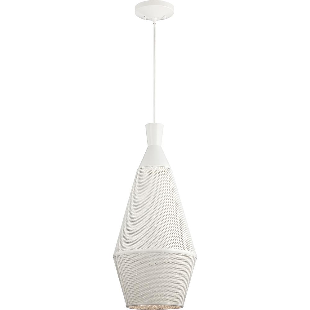 Nuvo Lighting Marx - 1 Light Perforated Metal Shade Pendant w/ 14w LED PAR Lamp Incl.