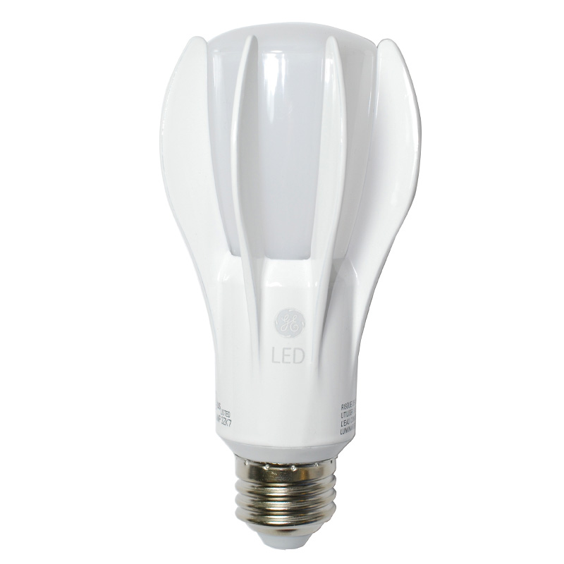 ge 73378 3 way led a21 2700k e26 bulb 6w 22w 15w 50w 100w 150w equiv. Black Bedroom Furniture Sets. Home Design Ideas