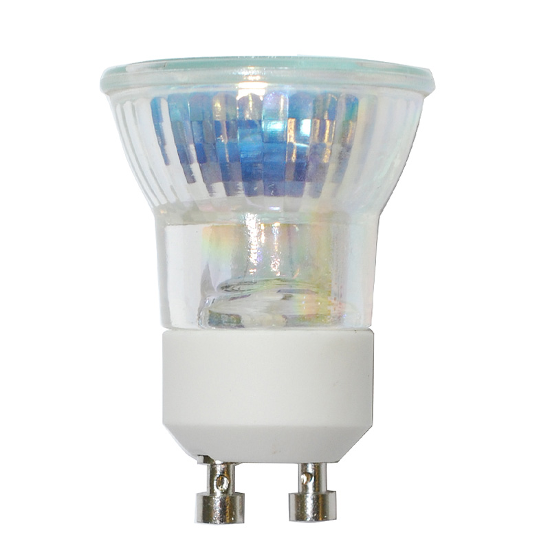 bulbamerica fth 35w 120v mr11 gu10 base cover guard flood mini reflector bulb ebay. Black Bedroom Furniture Sets. Home Design Ideas