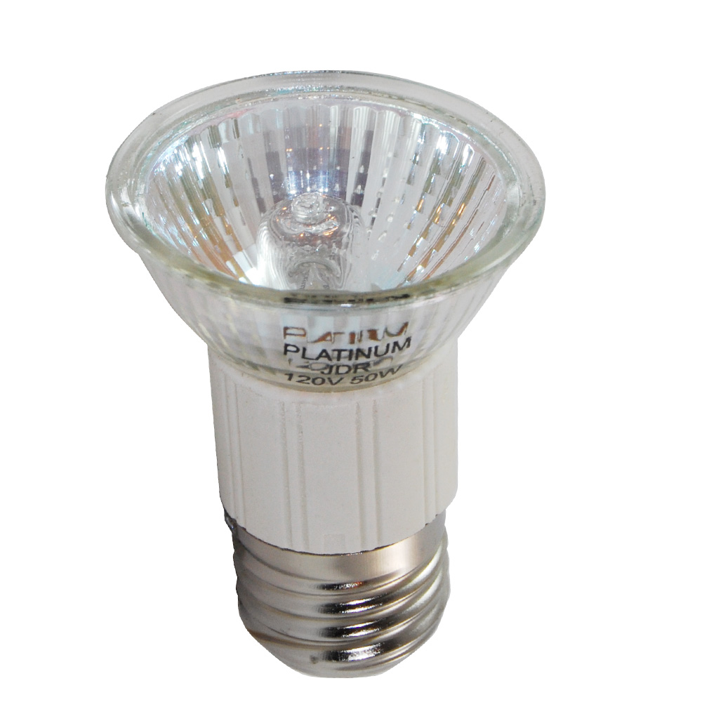 35w Mr16 E26 Base 120v: BulbAmerica 50W 120V MR16 E26 Medium Base Mini Reflector